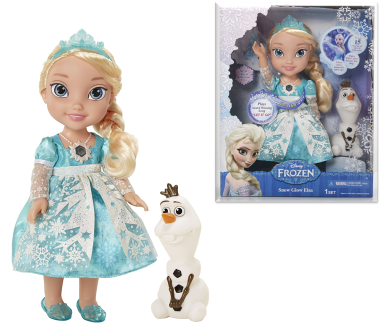 Princess Frozen Snow Glow Elsa