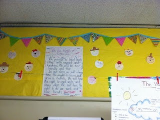 photo of classroom photo Teaching With Style organization 3rd grade Our Promises