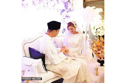 Majlis Pernikahan Noh Hujan Dan Mizz Nina (Gambar)