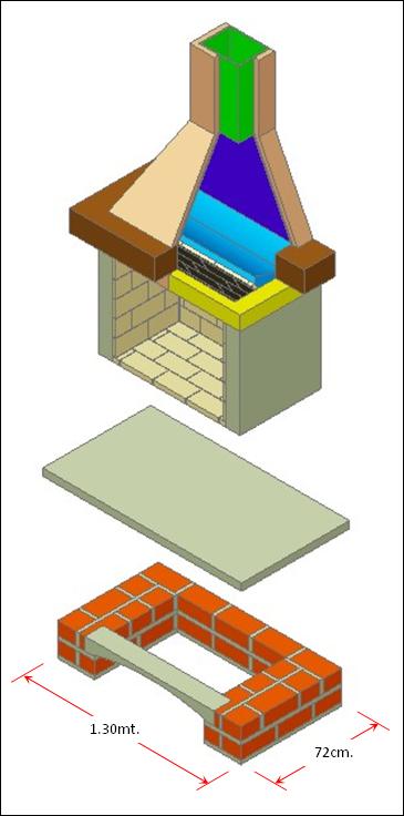 Como hacer una chimenea de uso domestico como hacer una - Como hacer una chimenea de obra ...