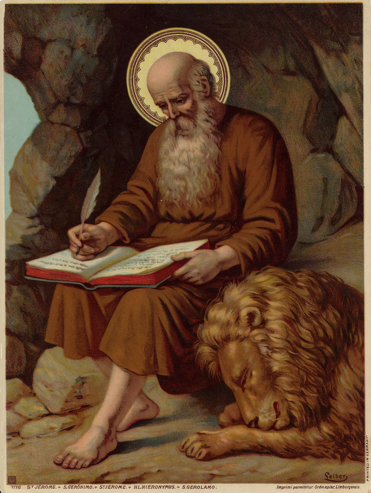 Feast Days in September http://holycardheaven.blogspot.com/2011/09/st-jerome-feast-day-september-30.html