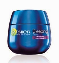 Prueba Garnier Sleeping Cream