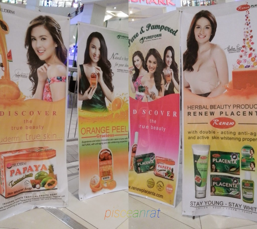 renew, pureform, pure and pampered, trinoma, sofia andres, kathleen hermosa, pauleen luna,