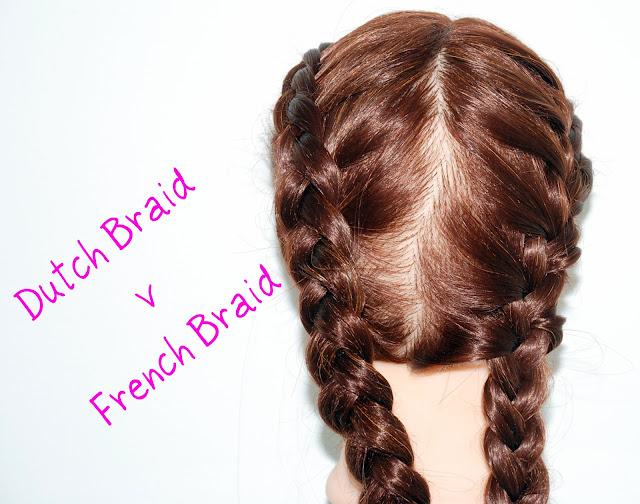 Dutch Braid Vs French Braid To Pin On Pinterest