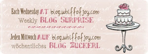 Wöchentliches Blog-Candy bei Whiff of Joy