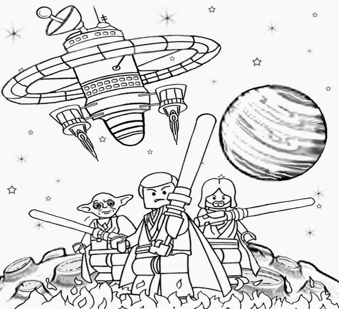 The Force Unleashed Deep Space Solar System Yoder Minifigures Lego Star Wars Coloring Pages To Print