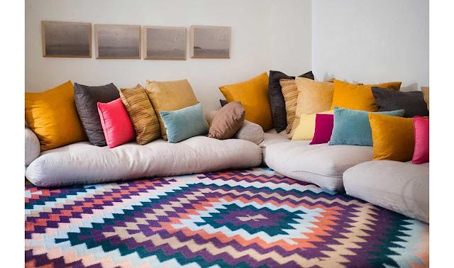 alfombra divertida kilim