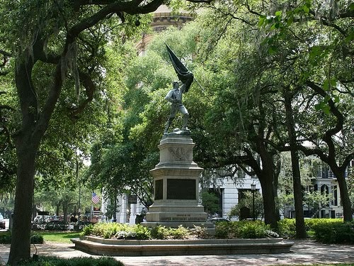 Chippewa Square, Savannah