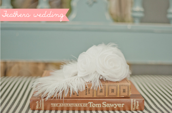 feathers wedding, roaring 20s wedding