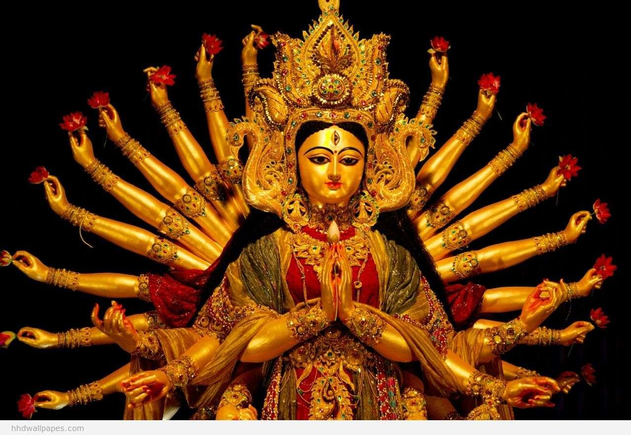 Beautiful Devi Maa hd wallpaper for free download