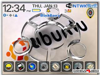 Tema BlackBerry 8520 Linux Ubuntu Download Tema BlackBerry 8520 Gratis 2012