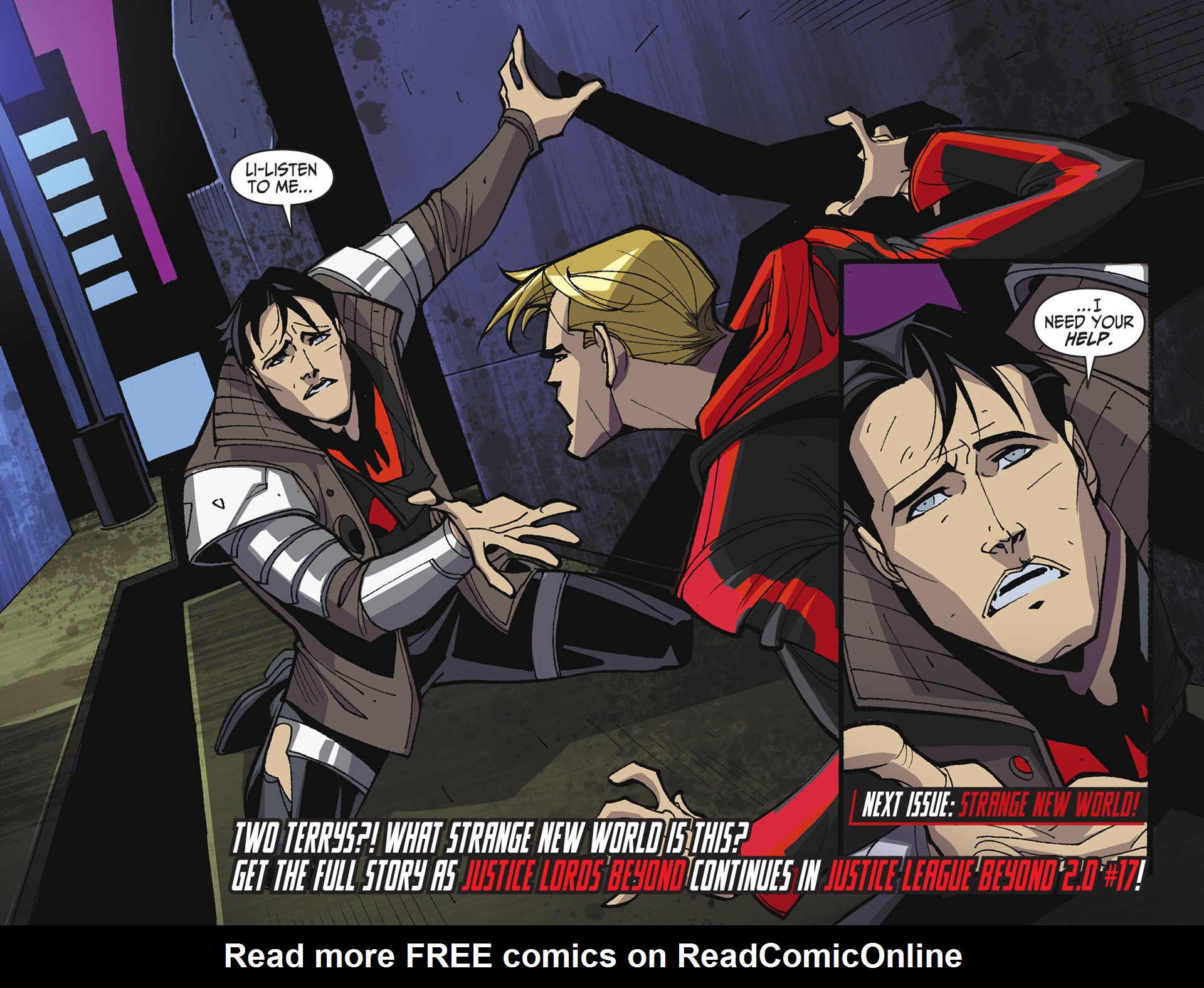 Batman Beyond 2.0 #17 #24 - English 22