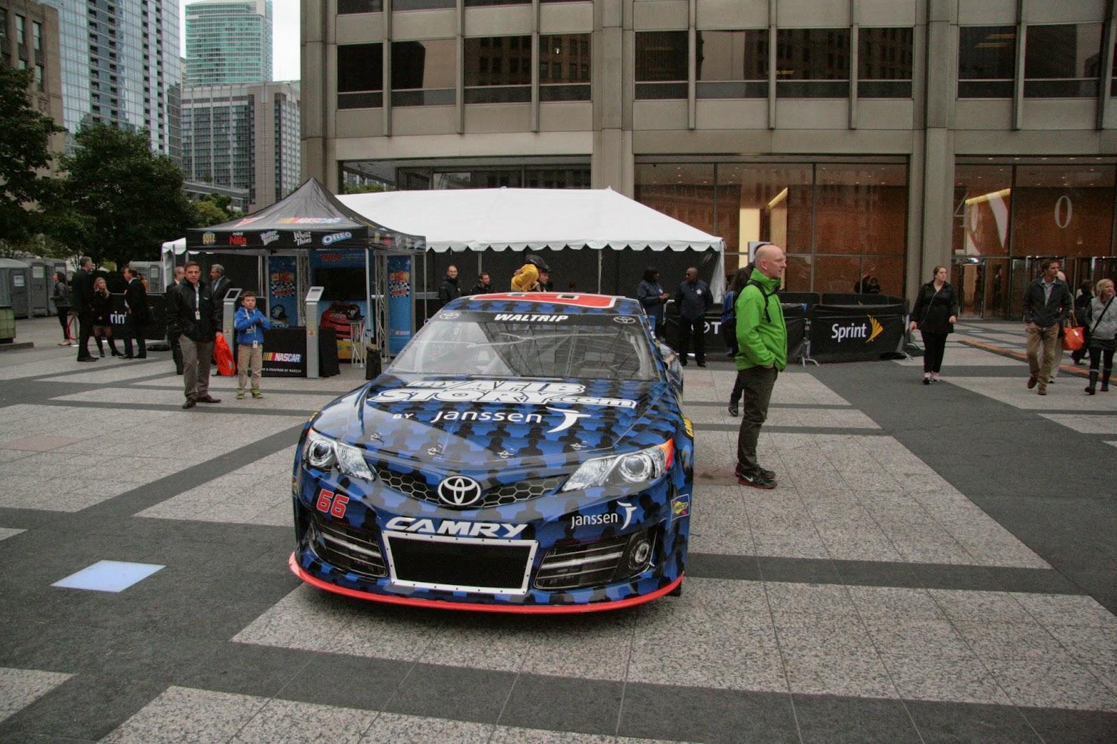 Blue Racecar!