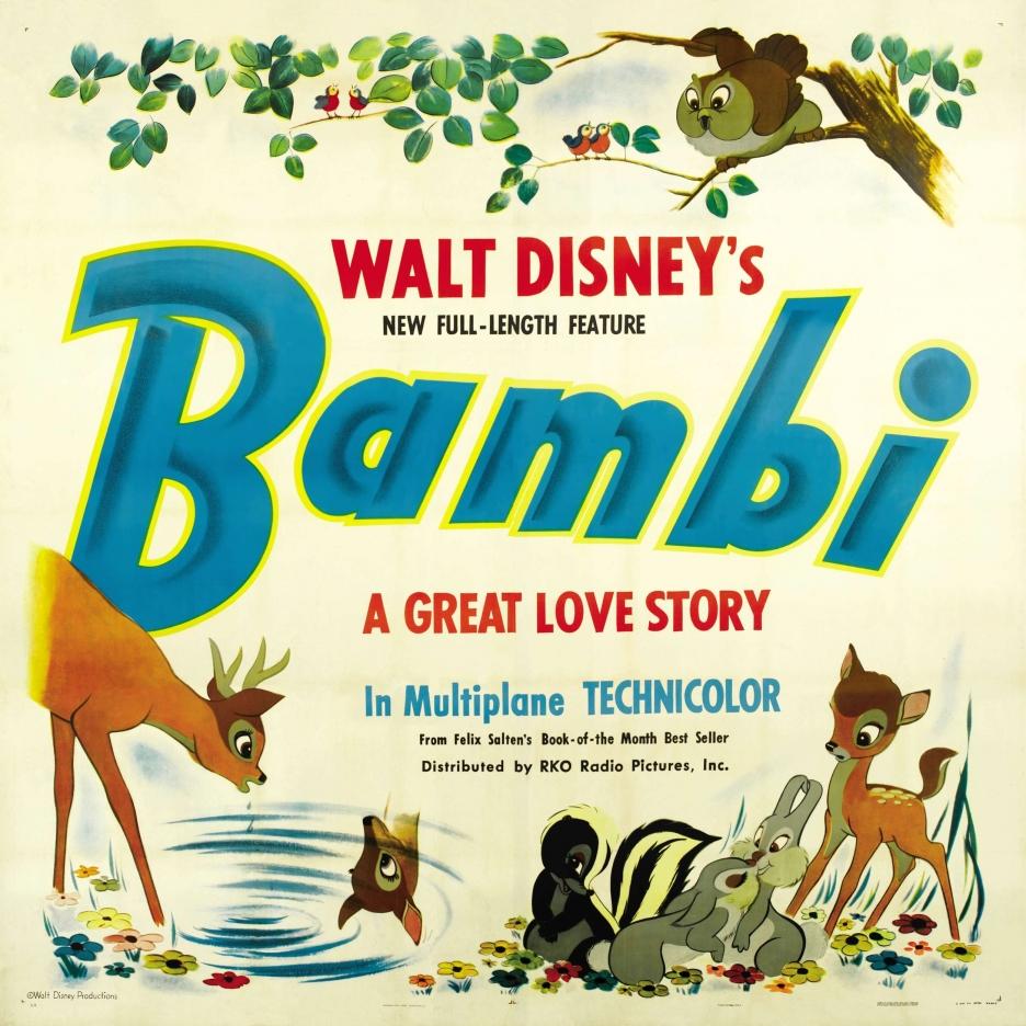 ╝┼б╥├дщ╣╦╥├┘╗└╥╛╩╙╦├╤║ BAMBI(╗╒1942) Walt Disney