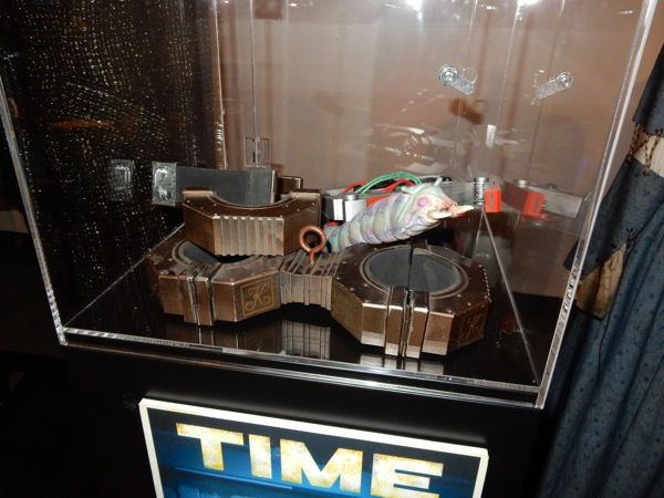 Doctor Who Time Heist props