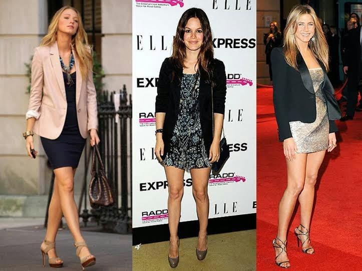 dresses with blazers