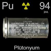 Plütonyum Elementi Simgesi Pu