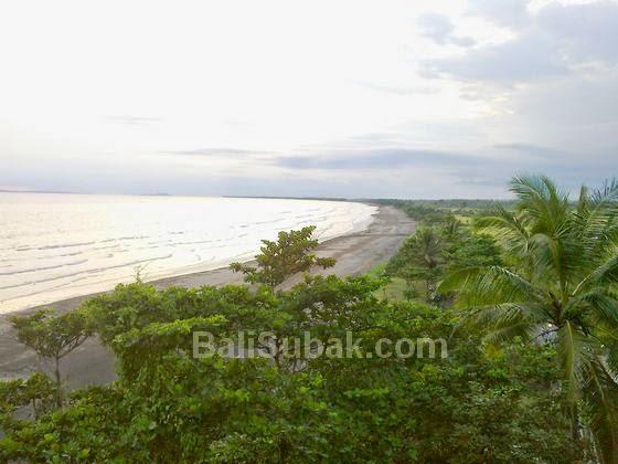 Rambutsiwi beach in Jembrana Bali, Indonesia