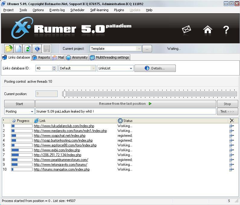 Xrumer full скачать бесплатно продвижение лозунга компании