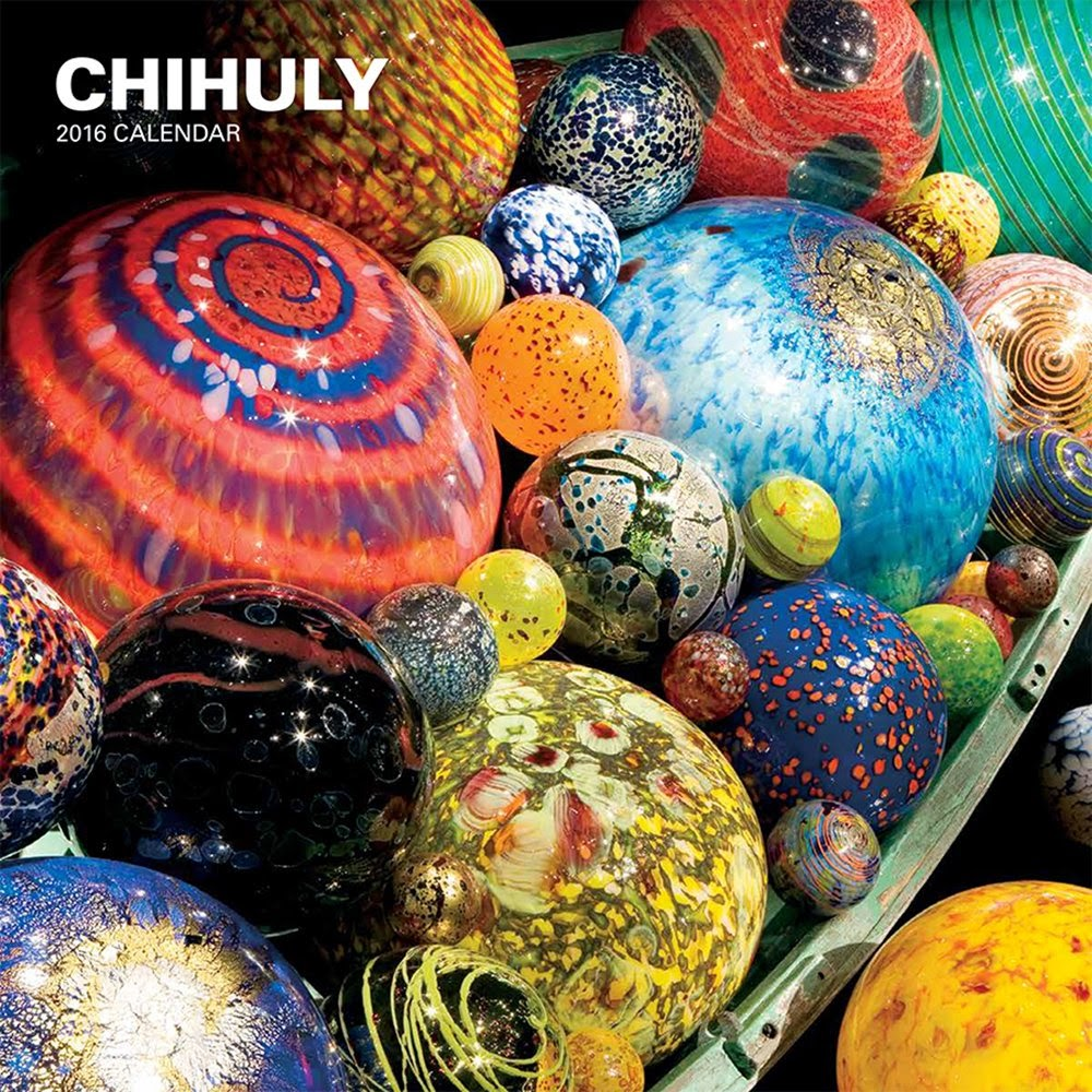 Chihuly 2016 Wall Calendar Best Calendars For 2016