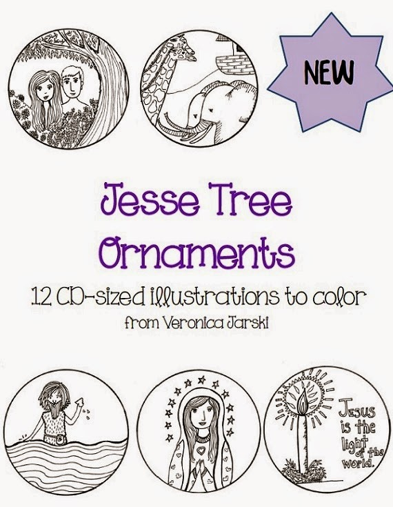 Paper Dali: Brand-New Jesse Tree Ornaments for Advent 2014 [Printables ...