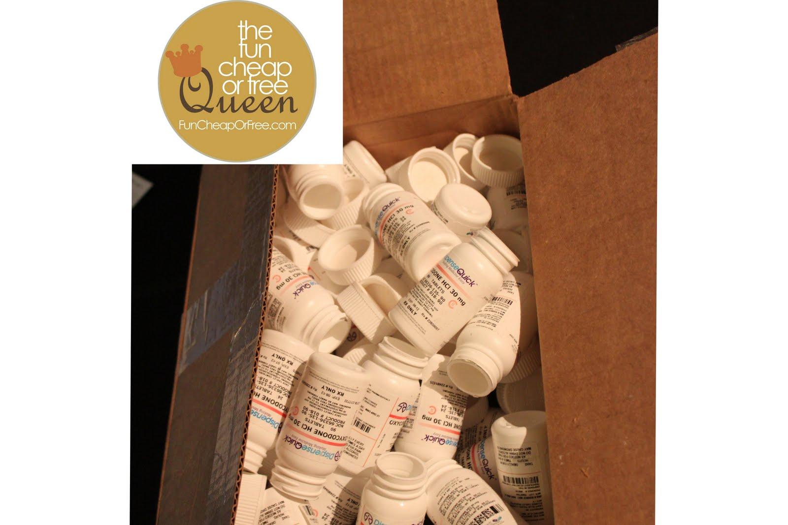 DIY Project: Pill bottle party favors