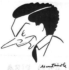 Caricatura de Francisco Vivas