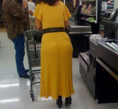 Funny dress fail