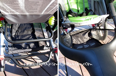 Jeep stroller storage