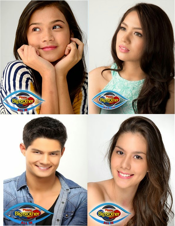 PBB ALL IN Big 4: Maris, Jane, Daniel and Vickie