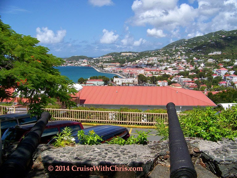 St. Thomas View from Bluebird's Castle