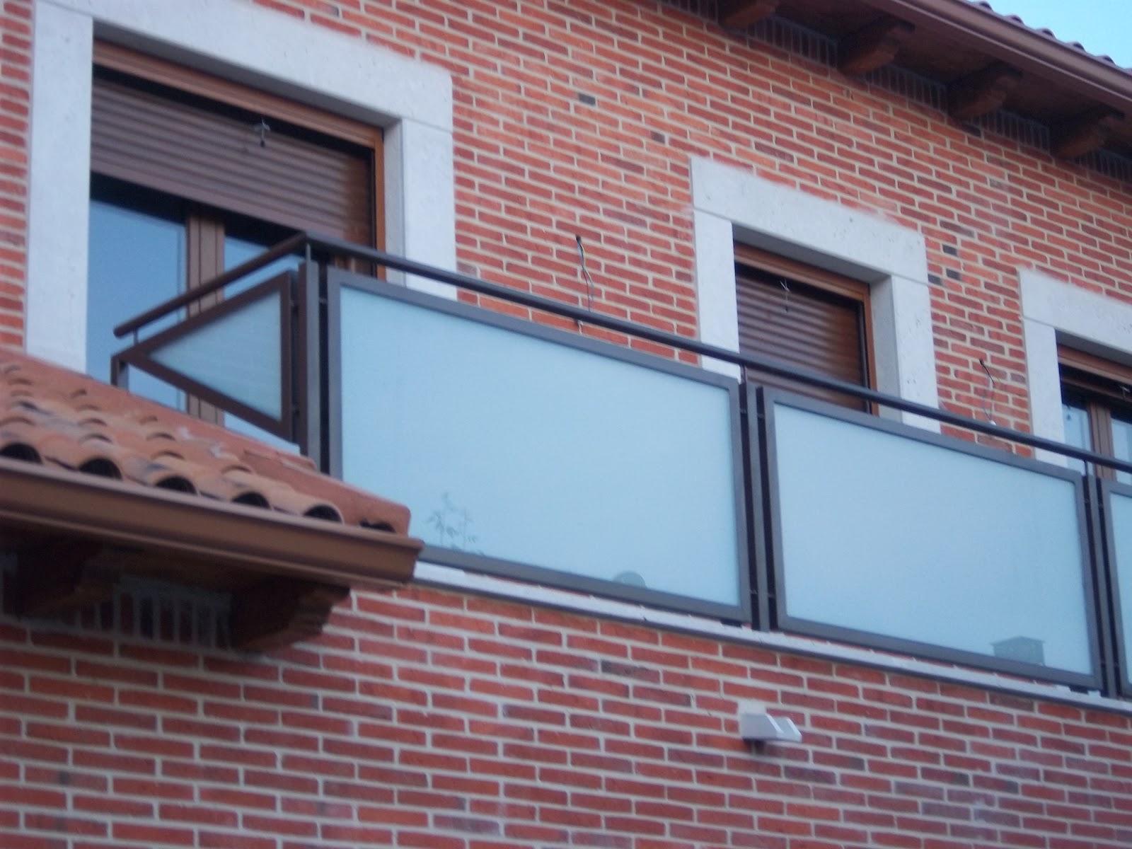 Norbel carpinteria met lica y acero inoxidable balcones - Balcones de cristal ...