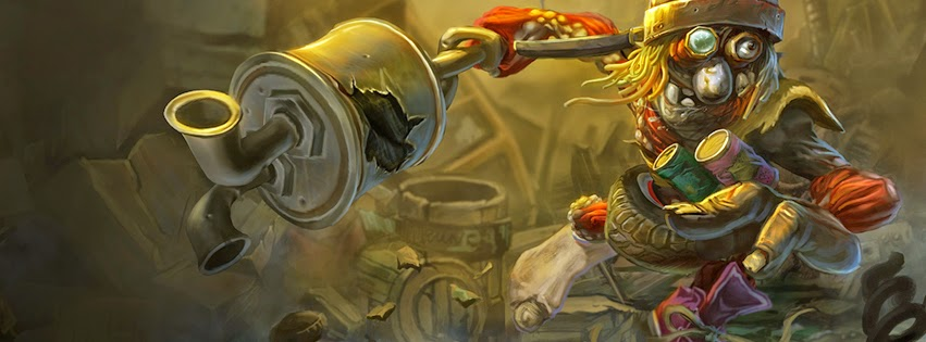 Trundle League of Legends Facebook Cover PHotos