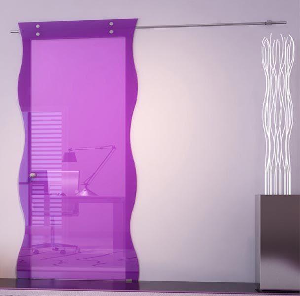 purple-sliding-door-design