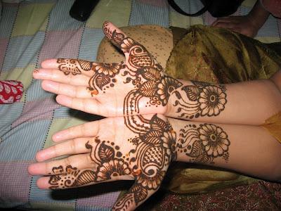 Mehndi Patterns Printable : Henna mehndi designs for hand feet arabic beginners kids girl