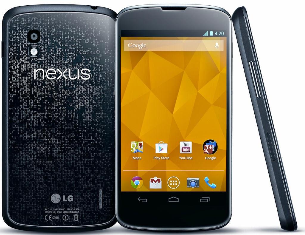 Nexus 4 y su nueva actualización Lollipop