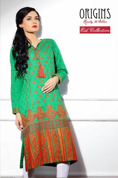 Origins Ready to Wear Eid Ul Azha New Collection 2014
