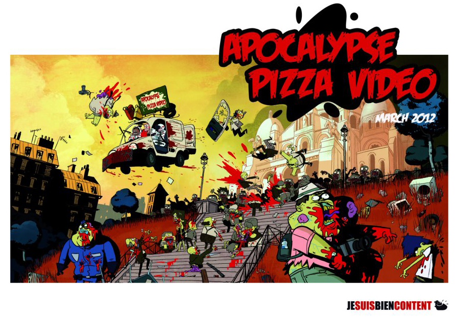 WATCH Apocalypse Pizza Video - Zombie of the Week