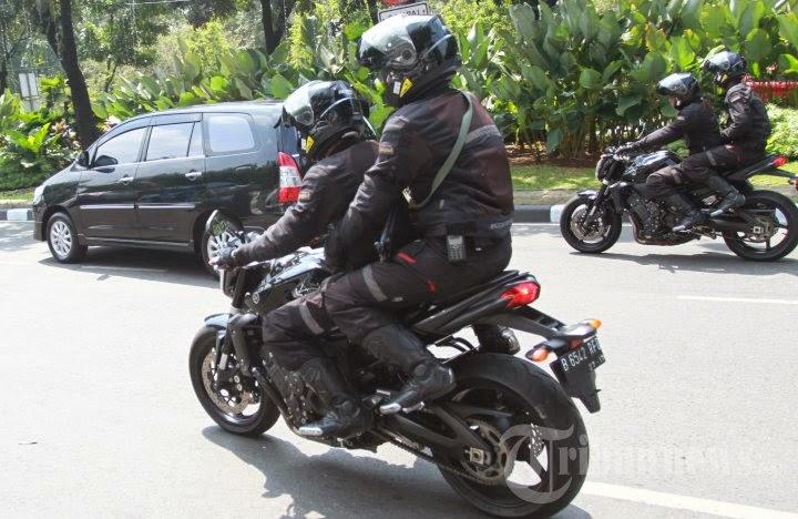 Yamaha FZ1 1000 cc Paspampres Indonesia