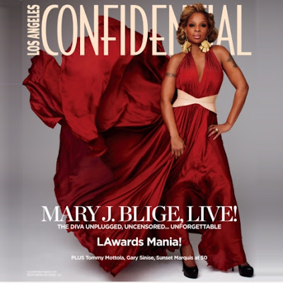 Mary J Blige LA Confidential