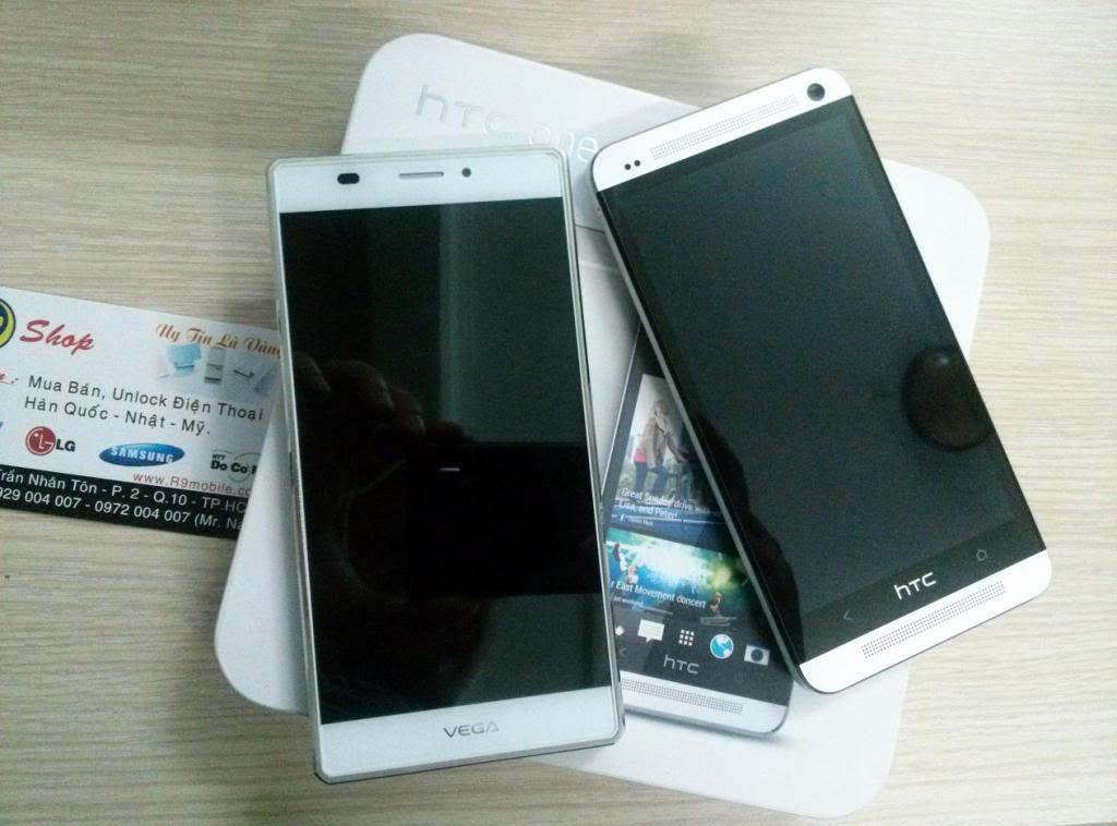 HTC One và Sky A870