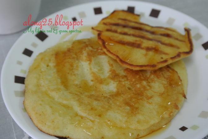 blog along25, along25, resepi pancake, pancake mudah sedap, pancake sedap, serius