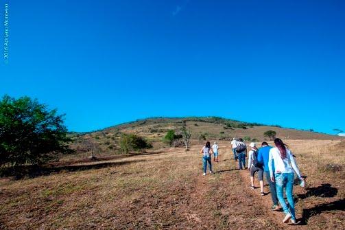 DESTAQUE: Equipe de Turismo e Cultura visita Serra do Saquinho em Agrestina