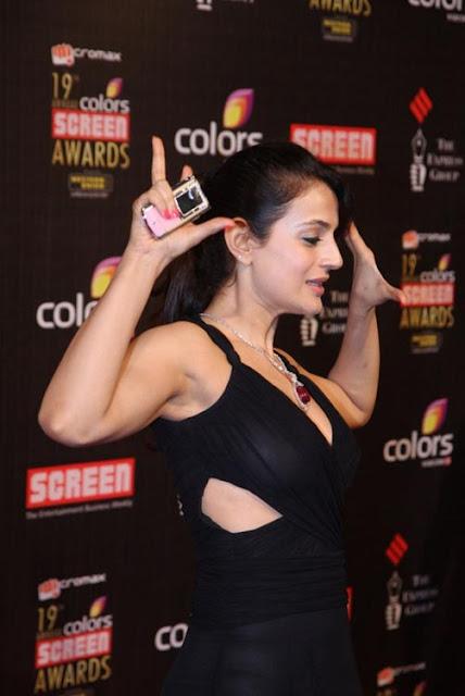 Amisha Patel hot show