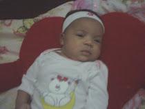 a mais nova e linda integrante da familia minha nenem Maria Alice