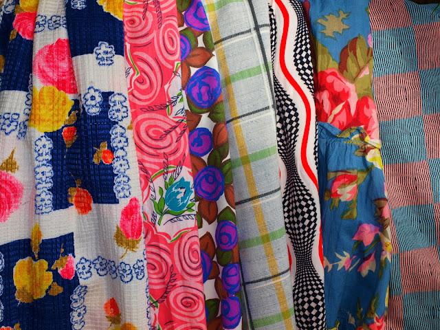 50's fabric dress
