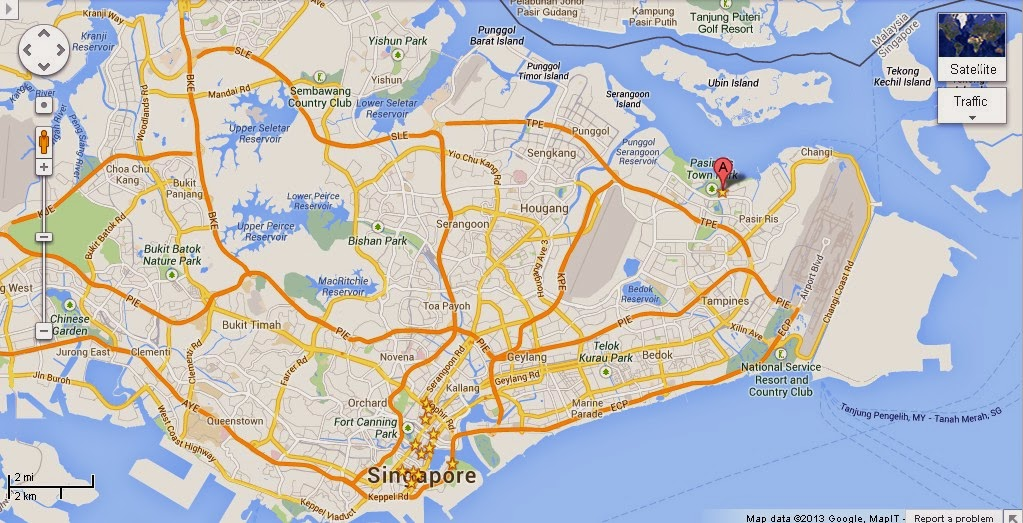 Detail Wild Wild Wet Singapore Location Map – Tourist Map Of Singapore City