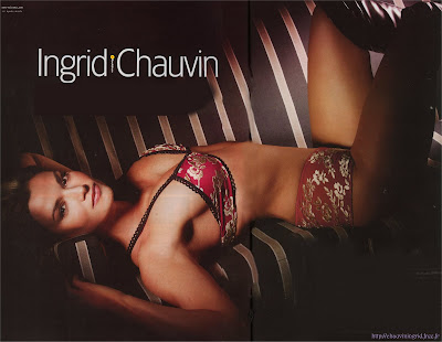 Ingrid Chauvin in Bikini Wallpaper