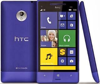 HTC 8XT : Spesifikasi dan Harga