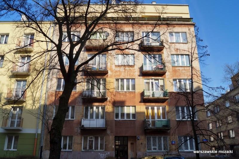 Warszawa Ochota kamienice lata 30 redakcja Polityki